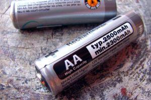 Schonung der Ressourcen mit Akkus statt Batterien