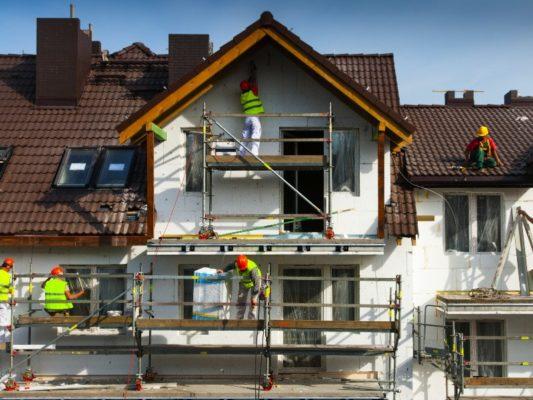 Gebäudedämmung Vergleich